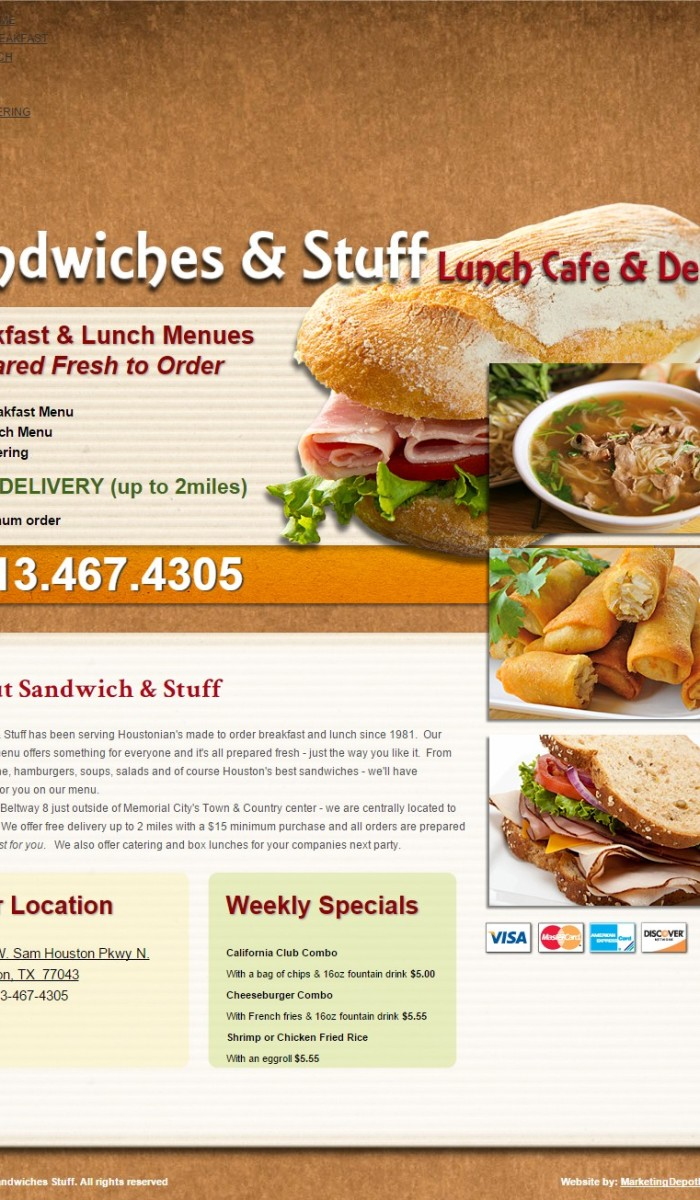 Home-style Web Designs